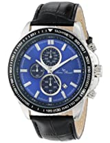 Lucien Piccard Men's LP-12552-03-BK Cartagena Analog Display Japanese Quartz Black Watch