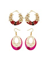 Fashionable Wear Gold Plated Earrings for Women Combo-2245