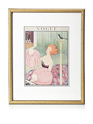 Original Vogue Cover from 1919 by George Plank