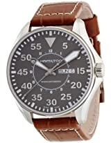 Hamilton Men's H64715885 Khaki Pilot Grey Dial Watch
