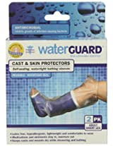 Waterguard Cast and Skin Protectors, Adult Short Leg, 2pk