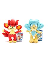 Set of 2 Banpresto My Pokemon Collection Best Wishes Mini Plush - Simisear & Simipour!!