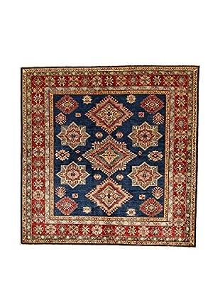 L'Eden del Tappeto Teppich Kazak Super dunkelblau/rot 187t x t186 cm