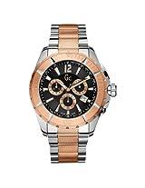 Gc Chronograph Black Dial Men's Watch - X53003G2S