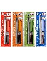 Pilot Parallel Calligraphy Pen Set 1.5 mm 2.4 mm 3.8 mm and 6 mm with Bonus Ink Cartridge (P9005SET)