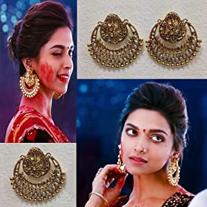 MoKanc Deepika Padukone's Earrings from Ramleela