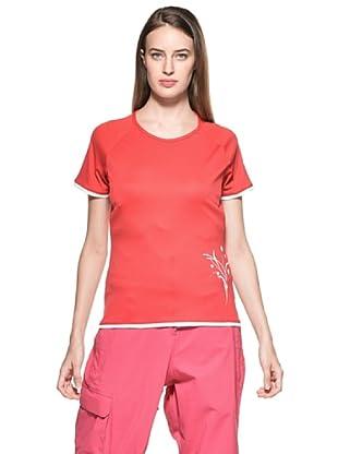 Salewa Sirene Dry Camiseta (Rojo)