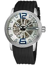 Stuhrling Original Men's 1078.33162 Classic Delphi Achilles Automatic Stainless Steel Skeleton Watch