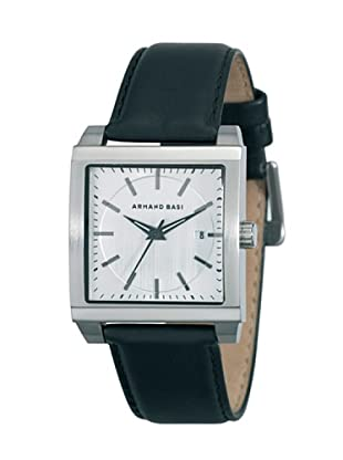 ARMAND BASI A0621G01 - Reloj de Caballero movimiento de cuarzo con correa de piel Negra
