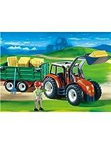 Playmobil - Tractor Hay Trailer