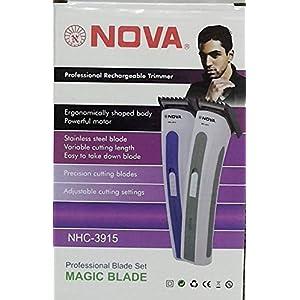 Nova NHC-3915 Beard Trimmer (Multi Color)