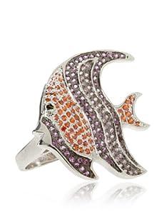 nOir Fishy Ring, Pink/Orange