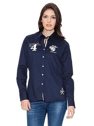 Valecuatro Camisa Escudos (Azul Marino)