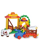 Sluban M38-B6018 Lego Happy Farm Educational Toy, Multi Colour