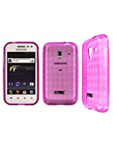 Flexible Diamond Shape Poly Skin TPU Hot Pink Case for Samsung Galaxy Admire 4G R820