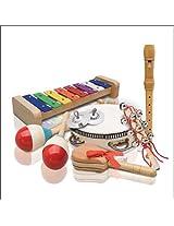 Ashton PP-03 Educational Percussion Pack, Multicolour