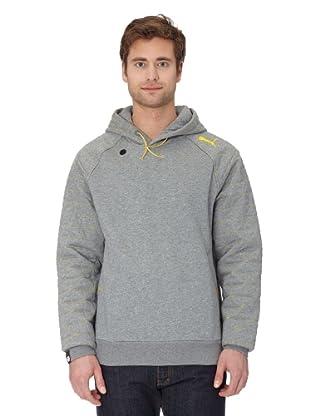 Puma Hoodie Tech (medium gray/heather-lemon)