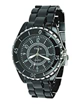 Davidson Black Stainless Steel Analog Men Watch Dn Rsblackchain