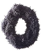 D&Y Women's Solid Fur Single Loop