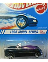 Hot Wheels 1995 Model Series #9 of 12 Cars Power Pipes with 3 Spoke Wheels Collector #349