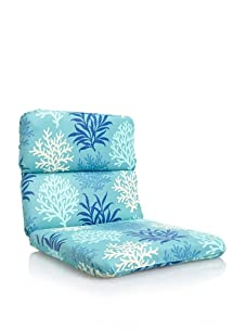 Waverly Sun-n-Shade Marine Life Rounded Chair Cushion (Pool)