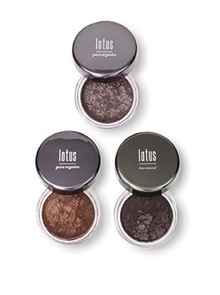 Lotus Cosmetics Neutral Eye Shadows, Set of 3