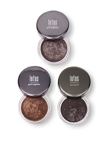 Lotus Cosmetics Neutral Eye Shadow, 3 Pack