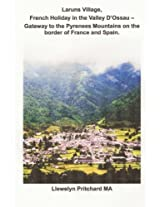 Laruns Village, French Holiday in the Valley D'ossau: Gateway to the Pyrenees Mountains on the Border of France and Spain: Volume 8 (The Illustrated Diaries of Llewelyn Pritchard Ma)