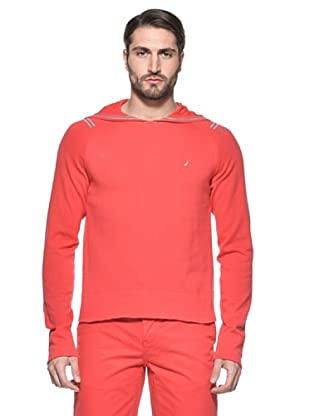 Nautica Jersey Hoodie (Rojo)