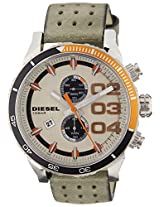 Diesel Chronograph Grey Dial Men's Watch - DZ4310