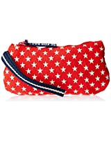 Be for Bag Caravel Women's Clutch (Red) (B4B-Parrrel)