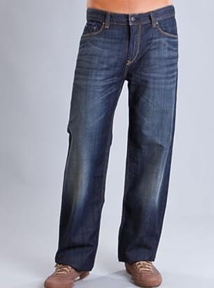 Timberland Pantalón Vaquero Costuras (Azul Oscuro)