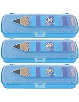 ROYAL RIO Plastic Pencil Box (CWHHPNCBXB-A)