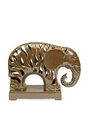 Carolyn Kinder Menno Cut-Work Elephant (Brown)