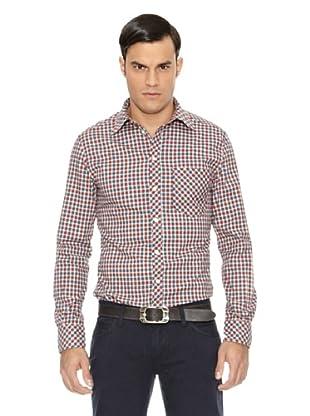D&G Camisa Cuadros Lamberto (Azul / Rojo)