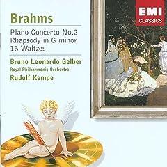 輸入盤 ゲルバー&ケンペ ブラームス:ピアノ協奏曲第2番、ピアノ小品種のAmazonの商品頁を開く