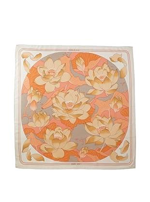 Hermès Women's Fleurs de Lotus Scarf, Pink