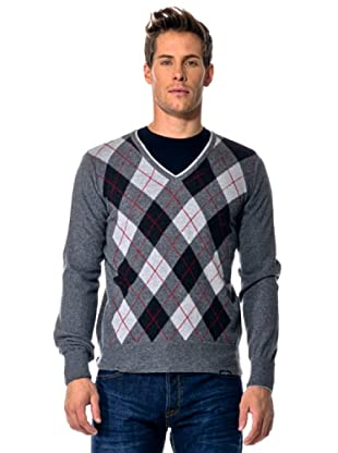 Rifle Jersey Cuello V (Gris Oscuro)