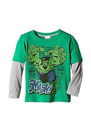 Marvel Camiseta Manga Larga Hulk Smash