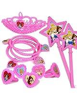 Disney Princess Party Favours Mini Toys In Bulk Pack, Multi Color