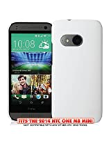 KAYSCASE Slim Hard Shell Cover Case For HTC One M8 Mini - White