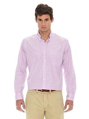 Turrau Camisa Cuadro Medio (Rosa / Azul)