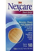 Nexcare Steri-Strip Skin Closure 1/2 X 4 Inches, 18 Count