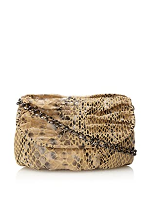 Inge Christopher Women's Clare Clutch (Natural Snake)