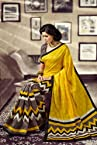 Multicolor Banarasi Silk Saree