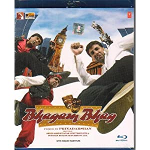 Bhagam Bhag [Blu-ray](Comedy Hindi Film / Bollywood Movie / Indian Cinema)