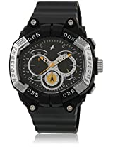 38006Pp02J Black/Silver Chronograph Watch Fastrack