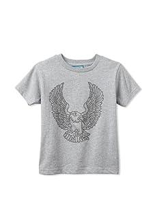 Born 4 Couture Boy's Eagle Short Sleeve T-Shirt (Grey)