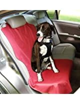 ASPCA Collection Heavy Duty Single Car Seat Protector Color Red