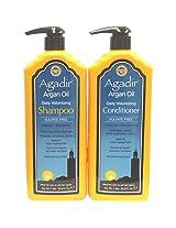 Agadir Argan Oil Daily Volumizing Shampoo & Conditioner Liter (Duo Set) [Misc.]